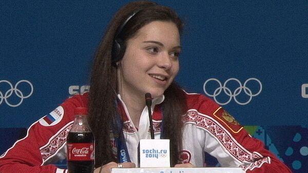 Чемпионки Игр-2014 Липницкая и Сотникова о конкуренции между собой