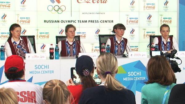 Российские биатлонистки об удаче, личном талисмане и поддержке родных