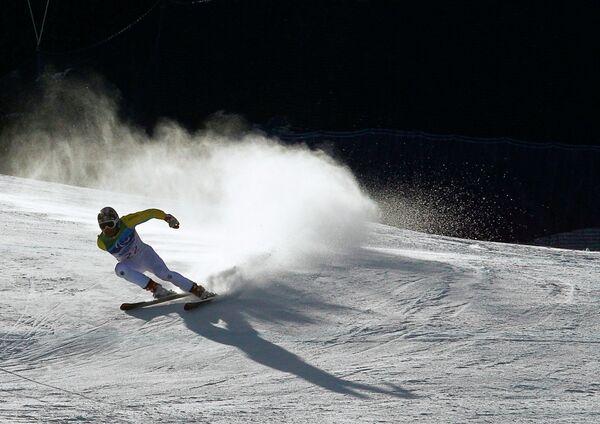 Участник Паралимпийских игр в Ванкувере Герд Шонфельдер