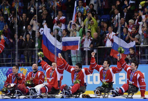 Сборная России по следж-хоккею