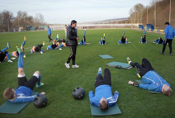 Футбол. Тренировка ФК Таврия