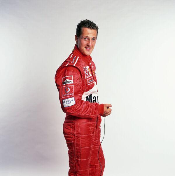 Архивное фото. Михаэль Шумахер во времена выступлений за команду Феррари