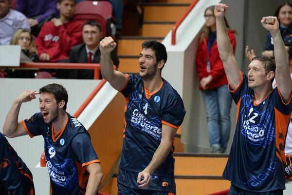 Баскетболисты Валенсии