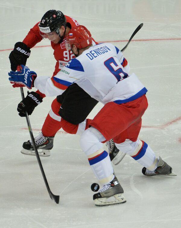 Свен Берчи (слева) и Денис Денисов