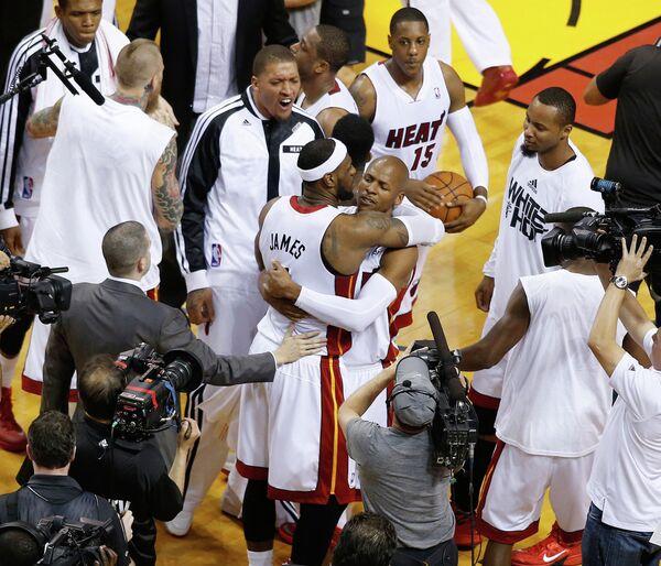 Баскетболисты Майами