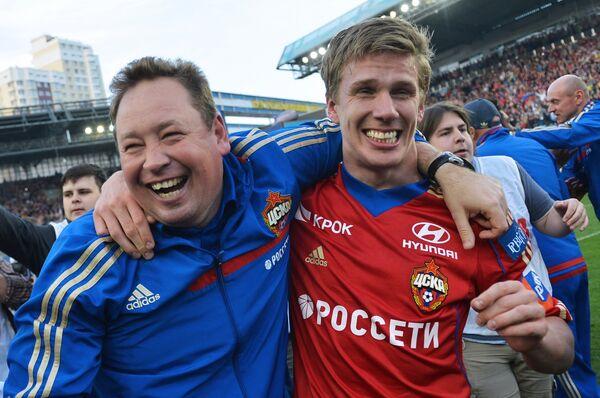 Леонид Слуцкий (слева) и Понтус Вернблум