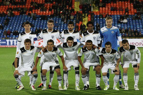 Футболисты ПАОКа