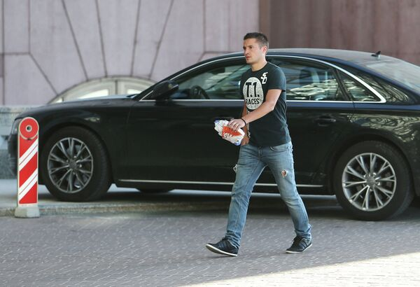 Полузащитник Зенита Виктор Файзулин прибыл на сбор национальной сборной по футболу