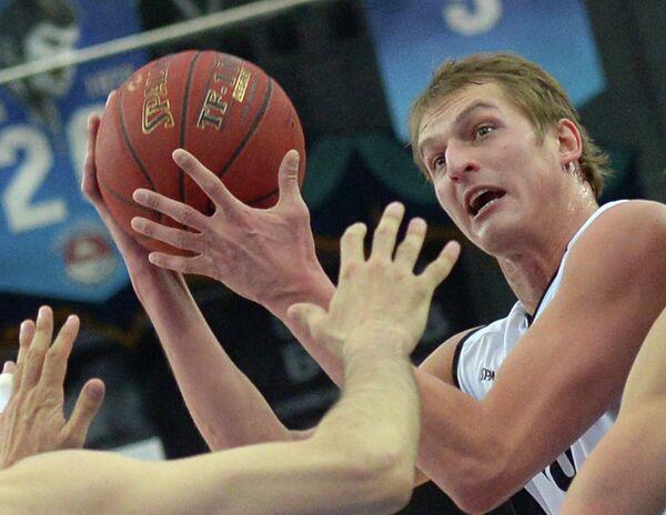 Игрок БК Нижний Новгород Владимир Ивлев