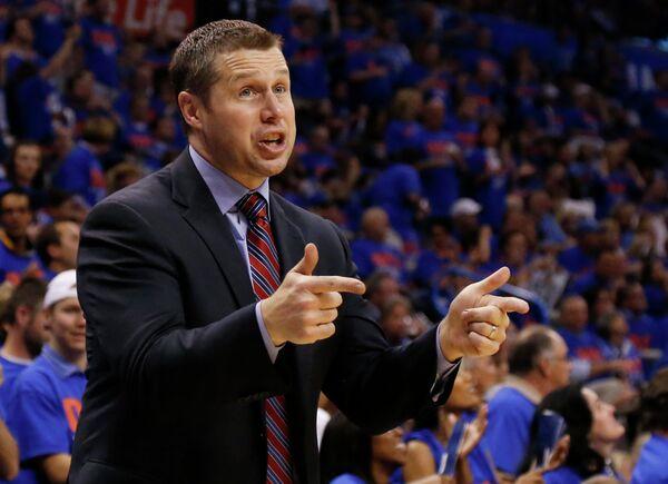 Главный тренер команды НБА Мемфис Гриззлис Дэвид Джоргер
