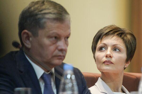 Марат Бариев и Анастасия Давыдова