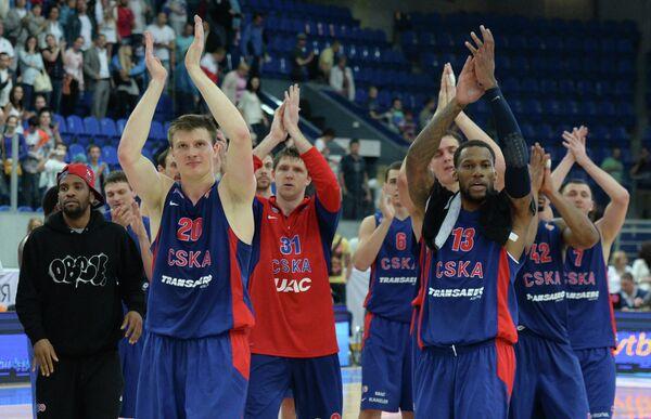 Баскетболисты ПБК ЦСКА