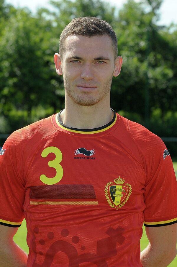 Защитник сборной Бельгии Томас Вермален