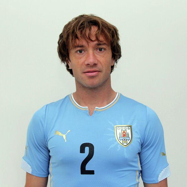 Защитник и капитан сборной Уругвая Диего Лугано