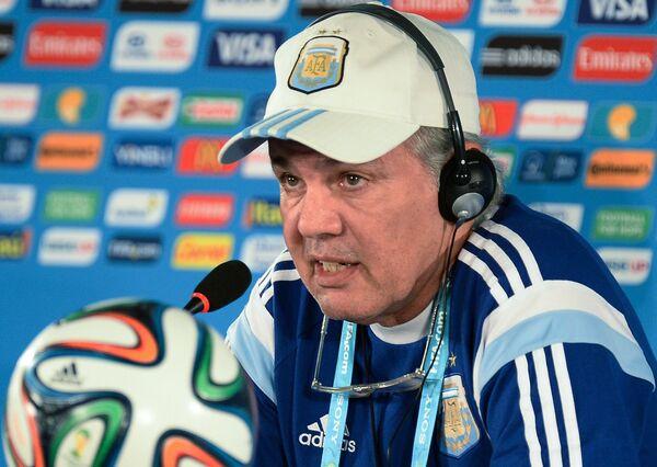 Главный тренер сборной Аргентины Алехандро Сабелья