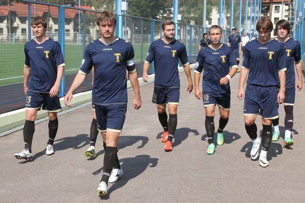 Футболисты Торпедо