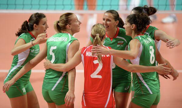 Волейболистки сборной Болгарии