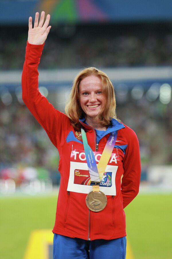 Российская спортсменка Светлана Феофанова