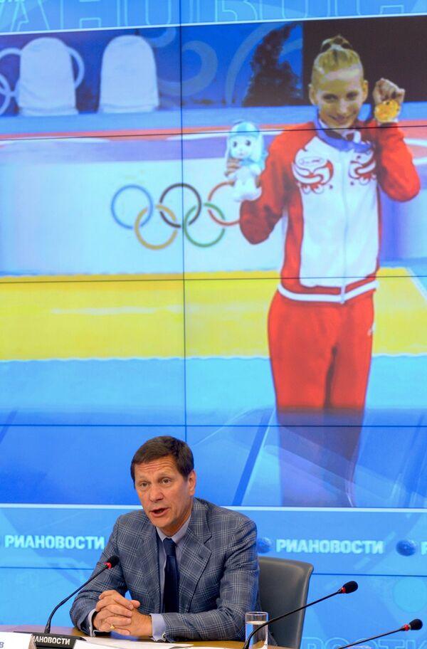 Президент Олимпийского комитета России, член Международного олимпийского комитета Александр Жуков