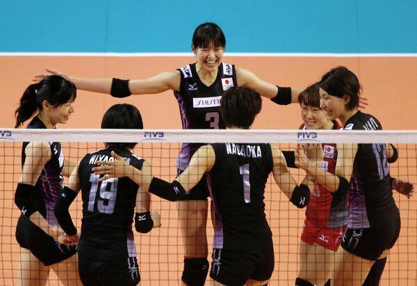 Волейболистки сборной Японии