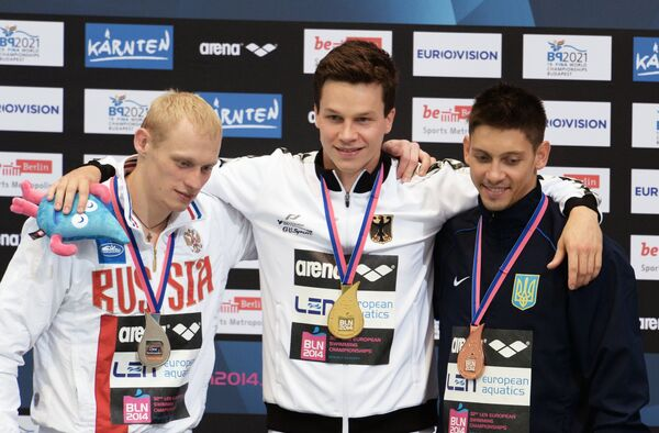 Илья Захаров, Патрик Хаусдинг и Илья Кваша (слева направо)
