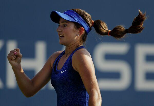 Пятнадцатилетняя американская теннисистка Кэтрин Беллис
