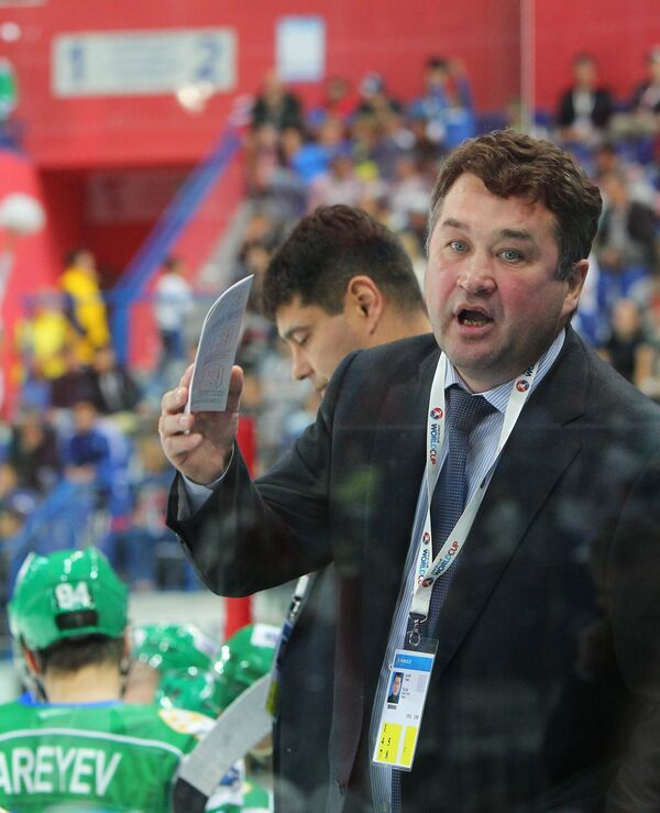 Главный тренер Толпара Венер Сафин