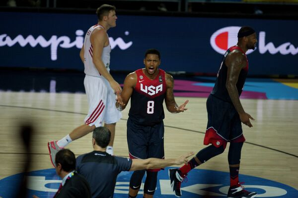 Баскетболисты сборной США