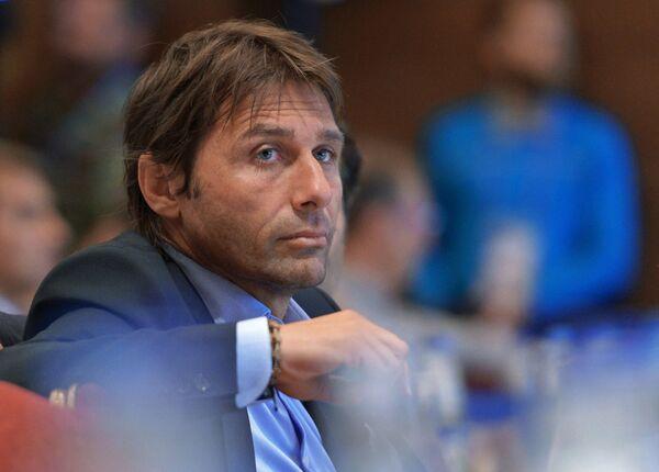 Главный тренер сборной Италии Антонио Конте