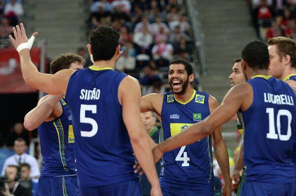 Бразильские волейболисты