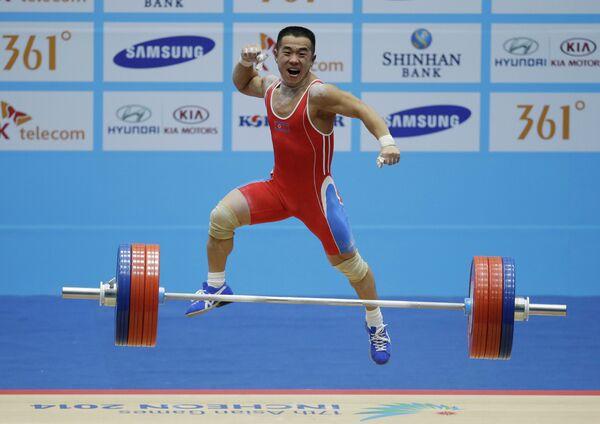 Азиатские игры. Тяжелая атлетика