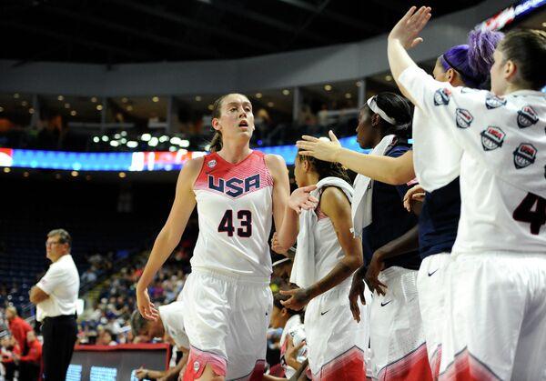 Баскетболистки сборной США