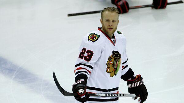 Форвард клуба НХЛ Чикаго Крис Верстиг