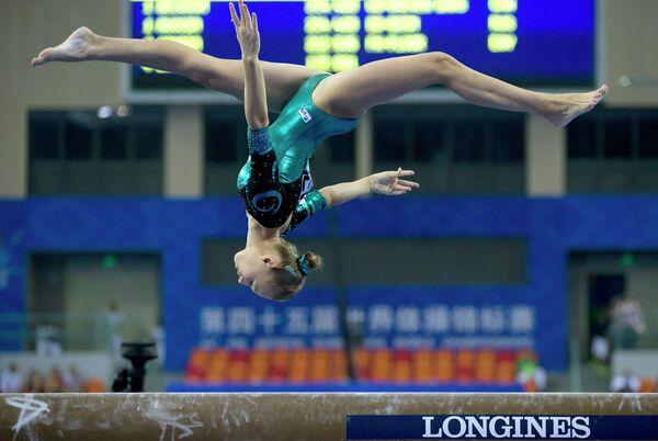 Российская гимнастка Дарья Спиридонова