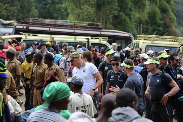 Велогонщики и менеджерский состав команды перед стартом сезона-2015 отправились на тимбилдинг в ЮАР, где покоряли Килиманджаро