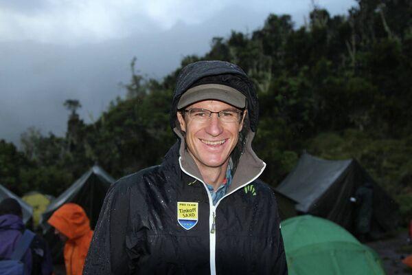 Один из главных героев команды в завершившемся сезоне - австралийский велогонщик команды Tinkoff-Saxo Майкл Роджерс