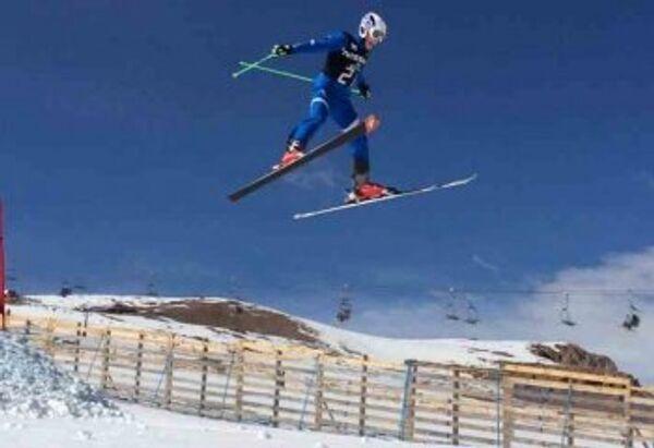 Тренировка сборной России по ски-кроссу