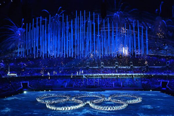 Церемония закрытия XXII зимних Олимпийских игр в Сочи