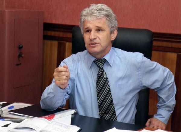 Министр спорта Республики Крым Георгий Шестак