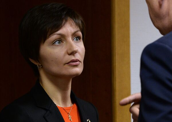 Вице-президент Олимпийского комитета России (ОКР) Анастасия Давыдова