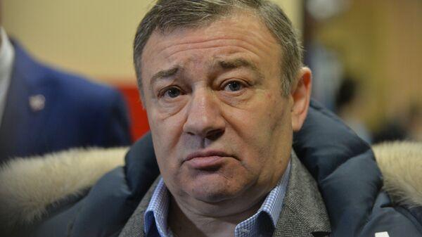 Президент ХК Динамо (Москва), член Совета директоров КХЛ Аркадий Ротенберг