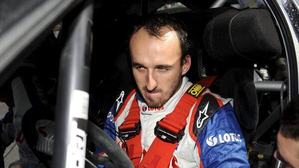 Польский автогонщик Роберт Кубица