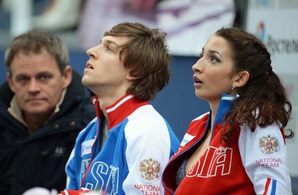 Ксения Монько и Кирилл Халявин