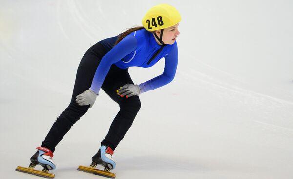 Юлия Шишкина после финиша на дистанции 1500 м