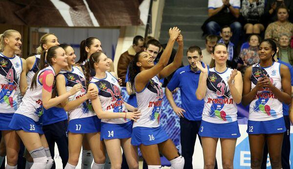 Волейболистки Динамо (Краснодар)
