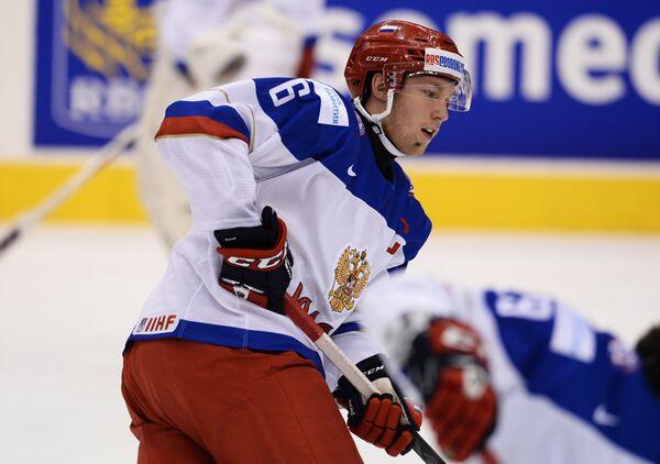Защитник сборной России Владислав Гавриков