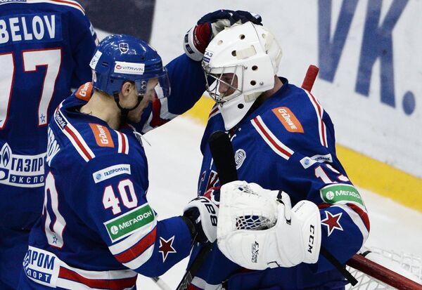 Евгений Кетов (слева) и Микко Коскинен