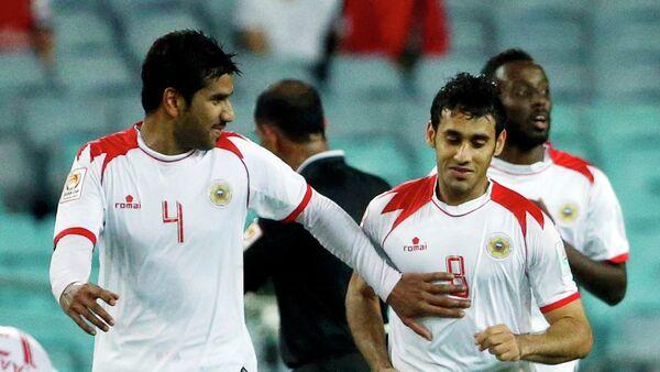 Футболисты сборной Бахрейна Сайед Ахмед и Сайед Дхия