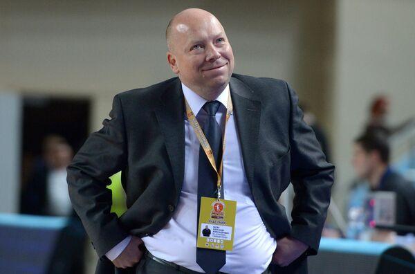 Главный тренер команды Спарта энд К Александр Васин