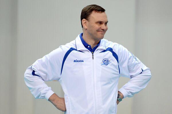 Главный тренер ЖВК Динамо (Москва) Андрей Подкопаев